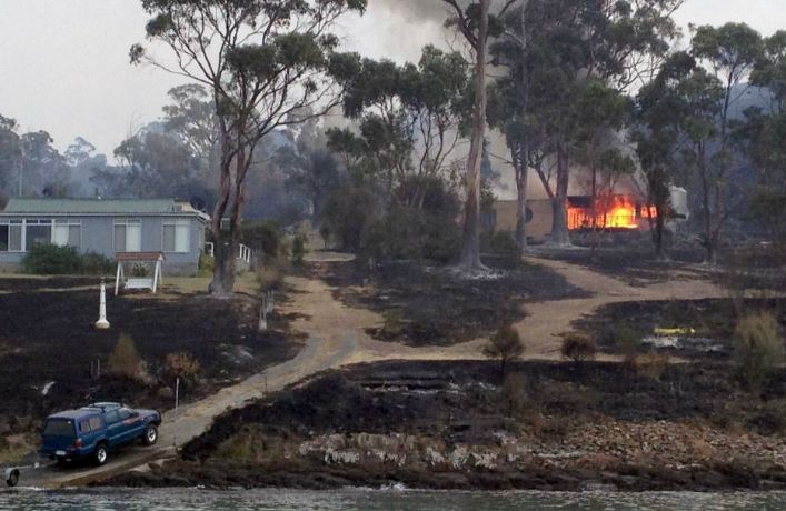 Australie : importants incendies en Tasmanie