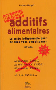 Danger-additifs alimentaires cover book