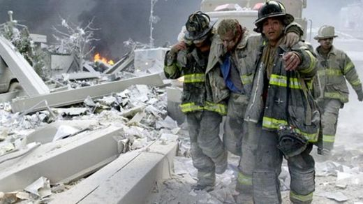 September 11, 2001, World Trade center attacked